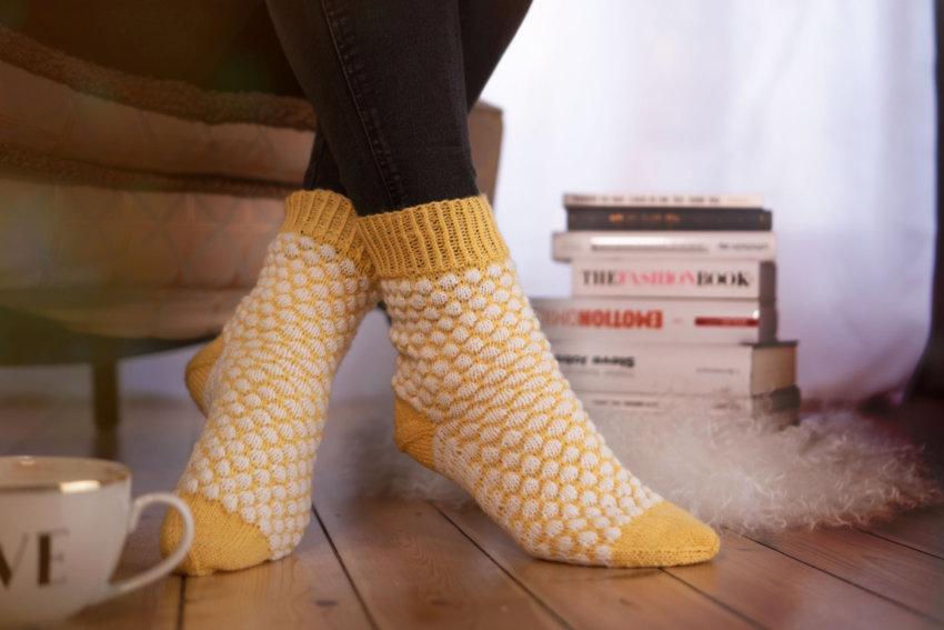 Strickanleitung Socken »CAJA«