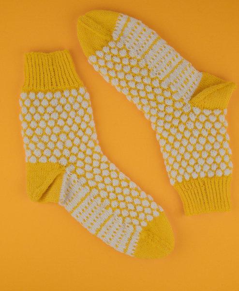 Strickanleitung Socken »CAJA« von sockshype.com