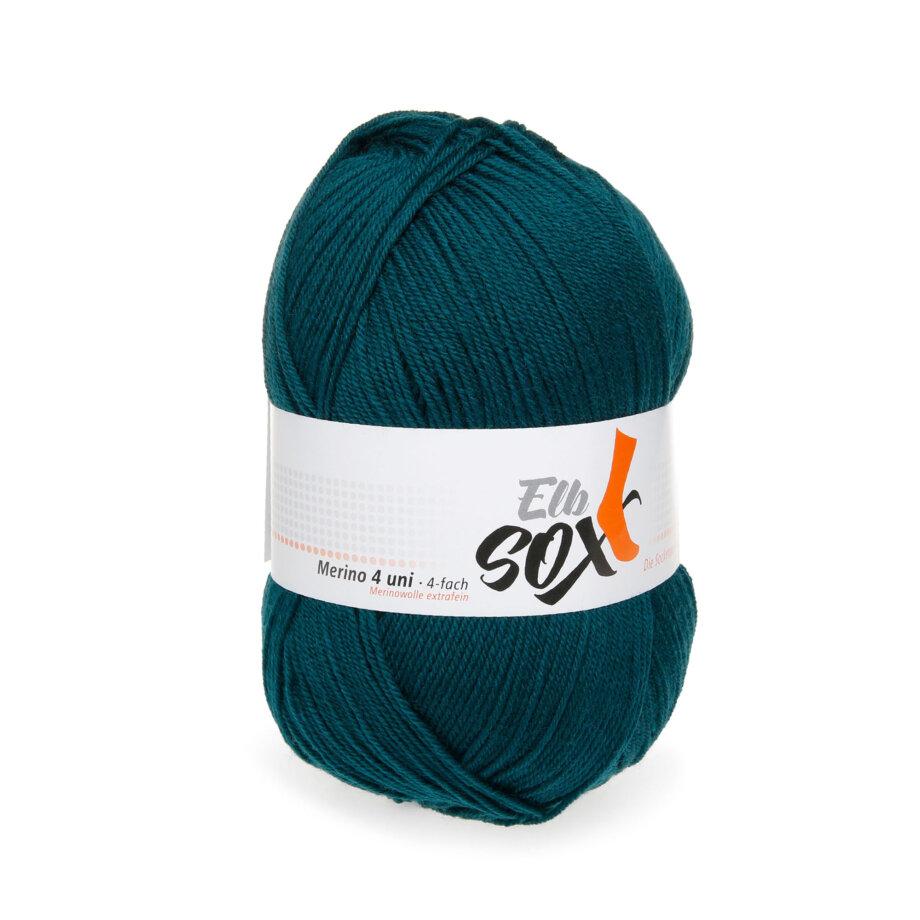 ElbSox Sockengarn / Sockenwolle Merino 4 fädrig von ggh
