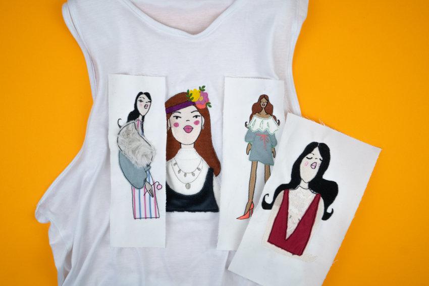 Stickdateien Fashion