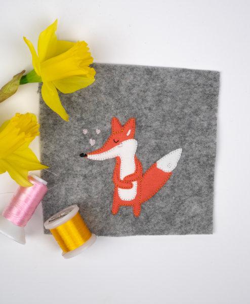Stickdatei Fuchs 10x10