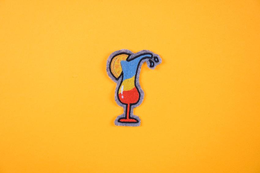 Stickdatei Cocktail