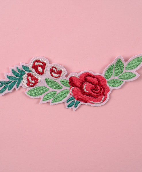 Stickdatei Ornament Rose