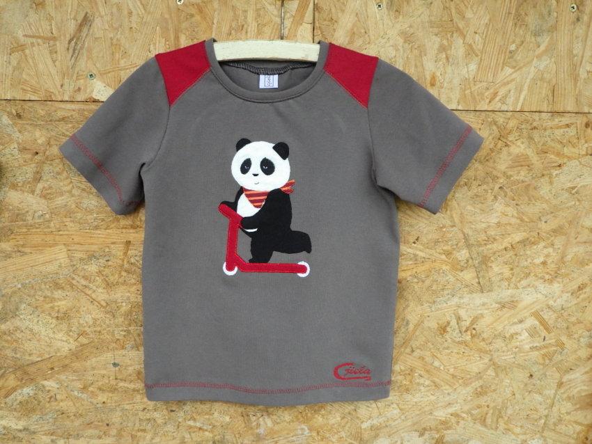 Stickdatei Panda »Pit« von Cjiela