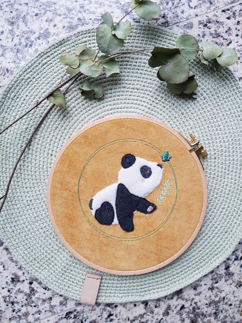 Stickdatei Panda