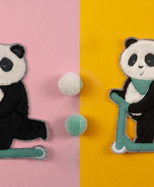 Stickdateien Panda