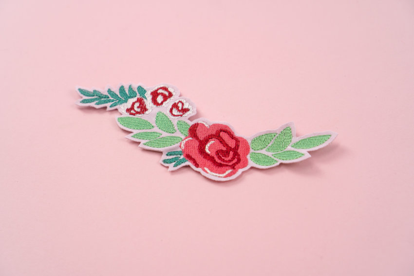 Stickdatei ornament Rose
