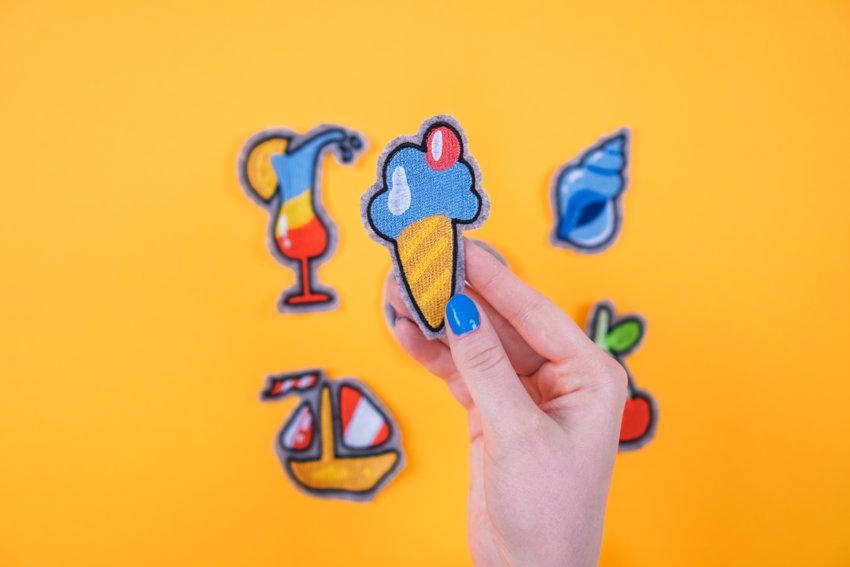 Stickdatei Sommer Eis
