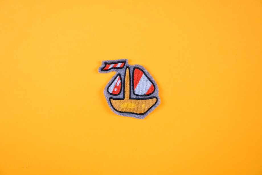 Stickdatei Segelboot