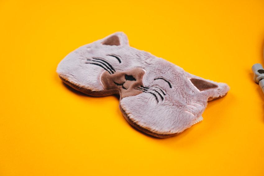 Schlafmaske ITH sticken (Katze)
