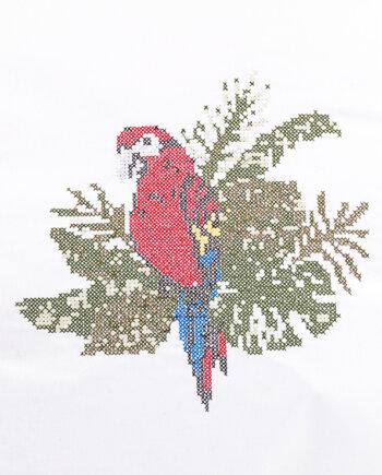 Stickdatei Papagei