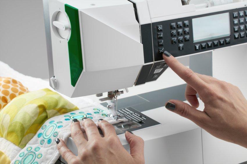 automatischer Fadenabschneider Nähmaschine