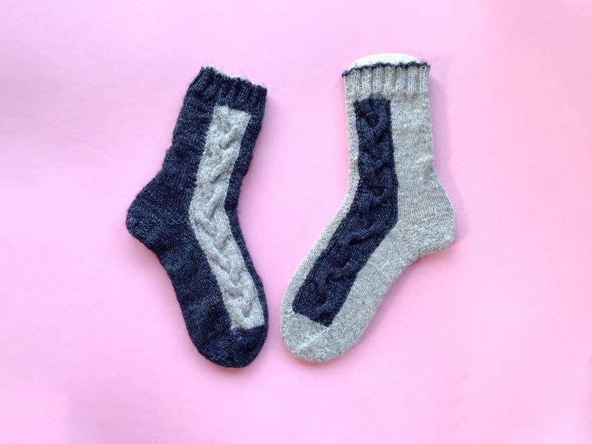 Stickanleitung Socken »IMMI«