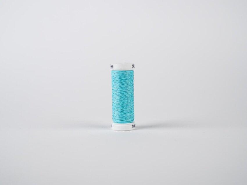 Fluoreszierendes Leuchtgarn zum Sticken (Blau)