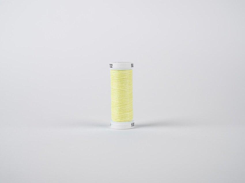Fluoreszierendes Leuchtgarn zum Sticken (Gelb)
