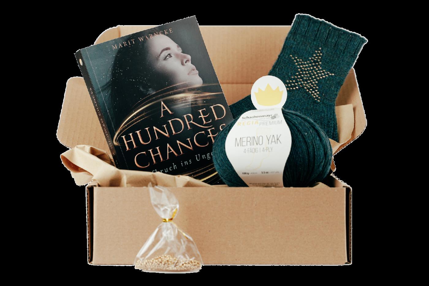 A Hundred Chances Geschenkbox für Stricker
