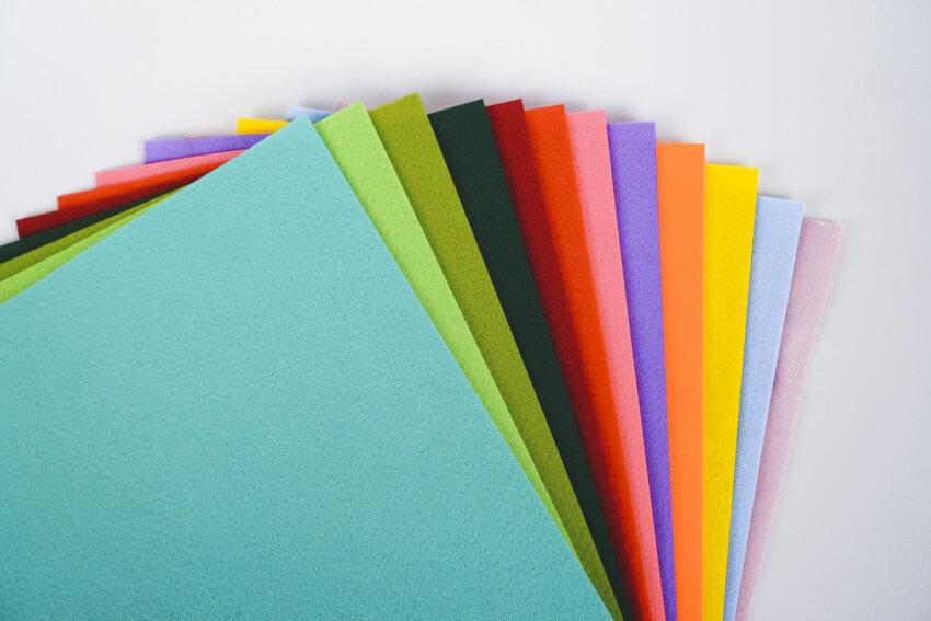 Felty stickfilz in 12 tollen Farben