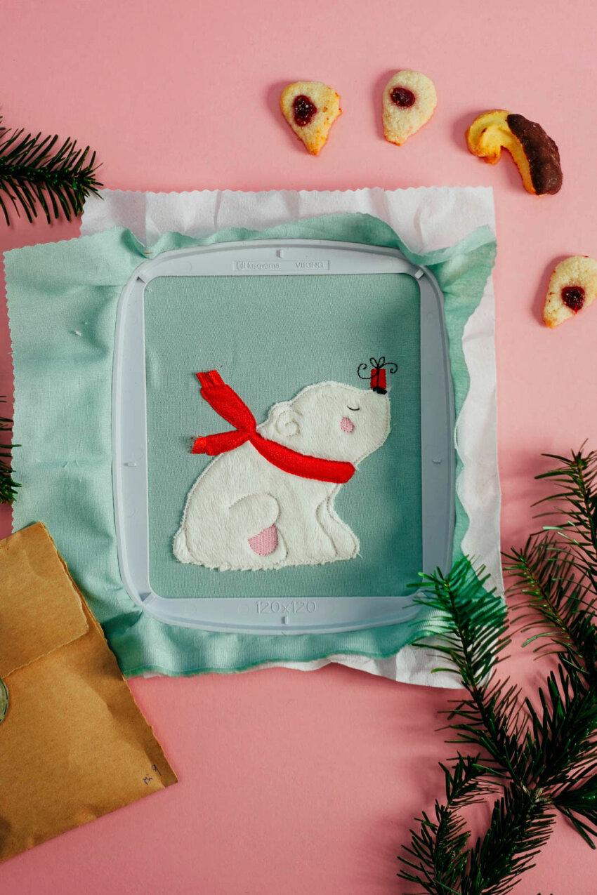 Stickdatei Eisbär