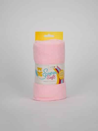 hellrosa super soft kullaloo stoff