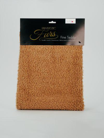 Kullaloo   Fantastic Fur   Fine Teddy   Teddystoff in Farbe braun